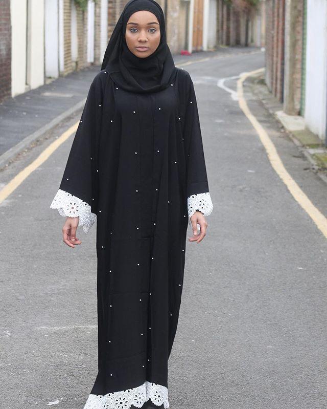 White Pearl Abaya    www.sheikhaboutique.com   #chic #LimitedEdition #luxe #middleast #fashion #arabstyle #chichijab #abayat #dubai #london #modest #muslimah #simplycovered #abayaaddict #3abaya #modestfashion #hijabstyle  #fashionista #hijab #abayablogger #loveabaya #hijabfashion  #chicmuslimah #sheikha #fashion #abayat #modest #muslimah # #abayaaddict #3abaya #modestfashion #hijabstyle  #fashionista #hijab #abayablogger #loveabaya #hijabfashion #chicmuslimah #sheikha #khaleej #dior #abaya…