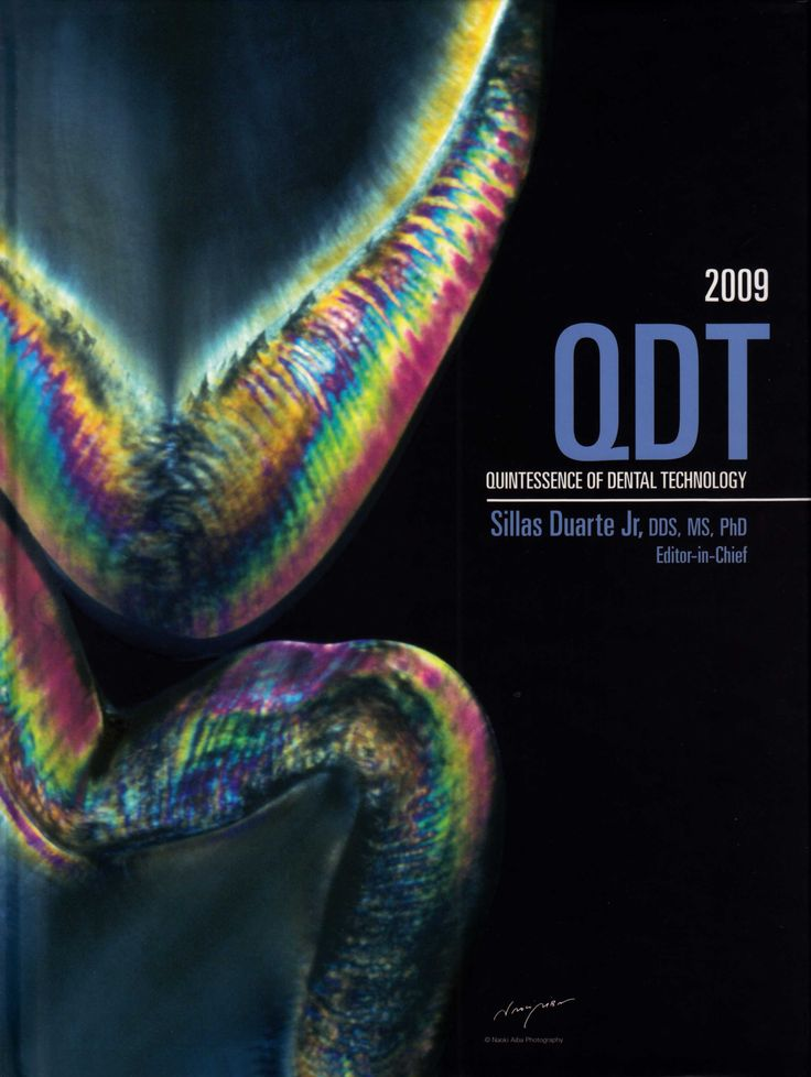 Title: Quintessence of Dental Technology Editor: Silas Duarte Jr. Publisher: Quintessence Publishing ISSN: 0896-6532 ISBN: 978-0-86715-419-1 Year: 2009 http://www.quintpub.com/display_detail.php3?psku=J0620#.UnaqpZE6JFw