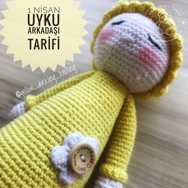 Amigurumi Şirine Bebek Yapımı Tarifi | Örme olmayan desenler ... | 650x650