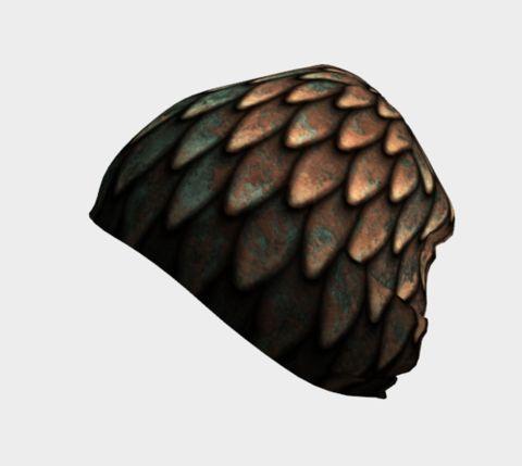 Copper Scales Toque/Beanie