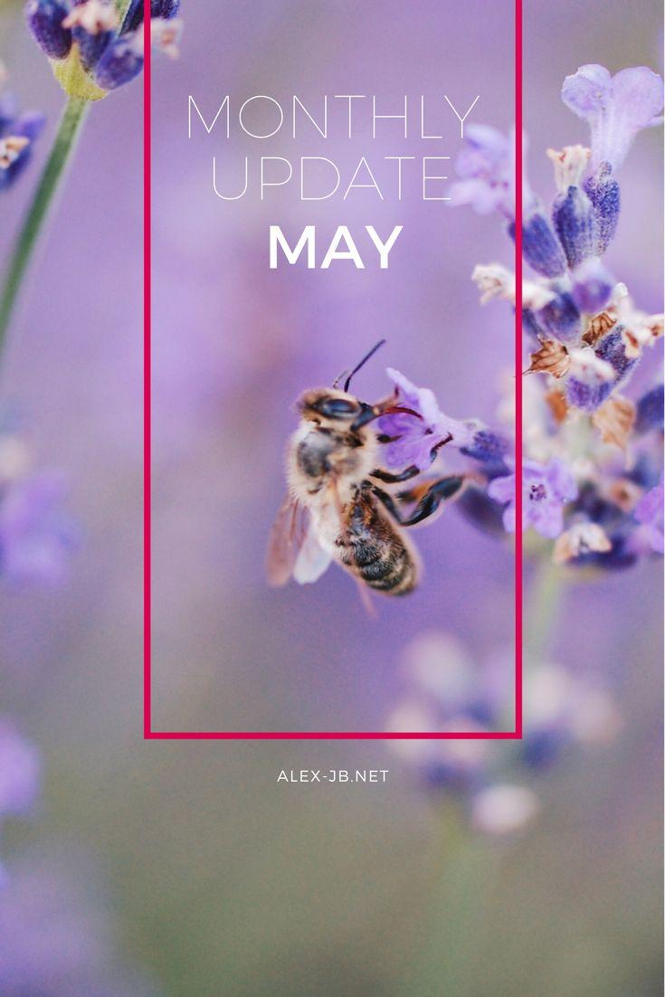Monatliches Update - Mai  April Rückblick, Vorschau Mai, Vorhaben, Wunschliste, ...  .......  Monthly Update - May  April Review, Bucket List, Wishlist, ....