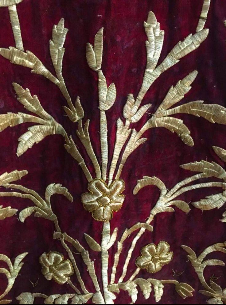 Details of Traditional Turkish Wedding Dress