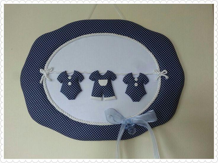 Mini Kıyafetli Kapı Süsü Erkek Bebek