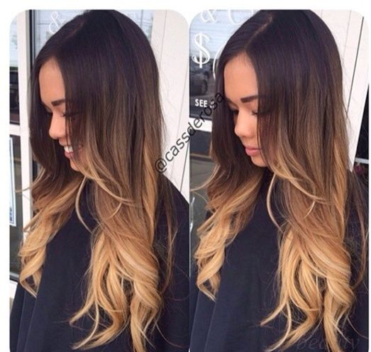 149 best images about ombre hair on pinterest - Ombre hair braun ...