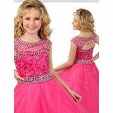 Ritzee Girls Tulle Pageant Dress