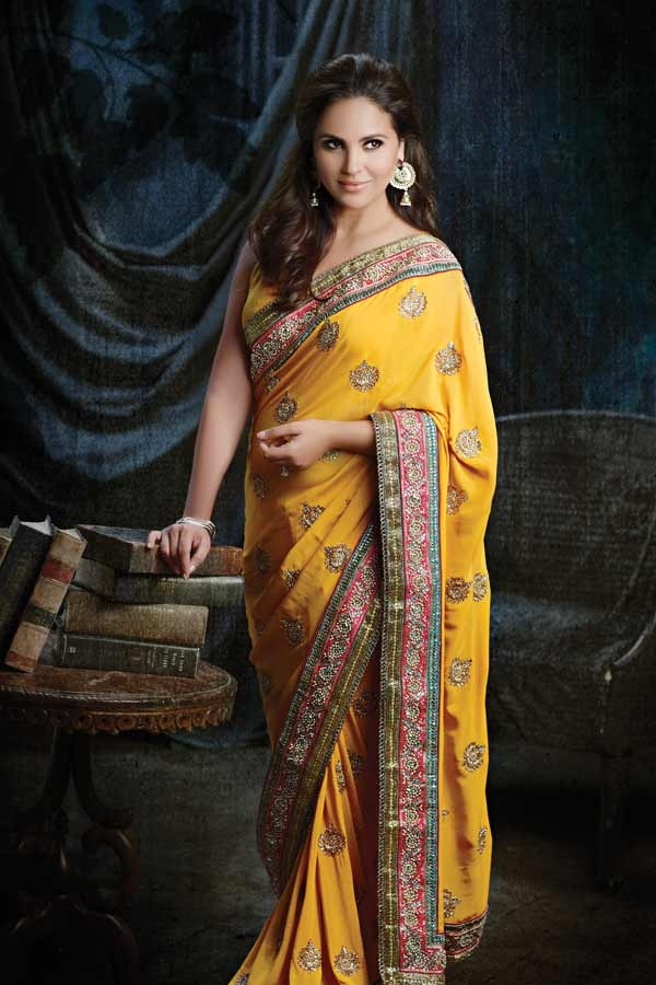 Signature Saree Collection designed by #LaraDutta    View entire collection at http://www.chhabra555.com/lara-dutta-collection