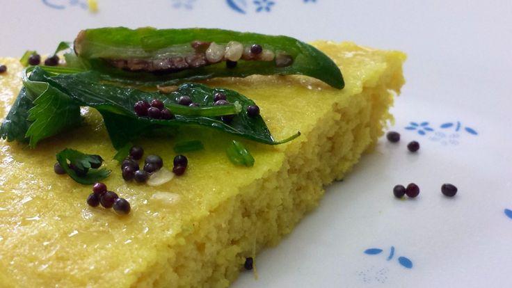 The much awaited….Quinoa Dhokla!