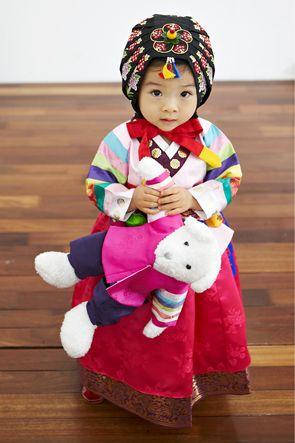 Dol Hanbok - custom made Sonjjang
