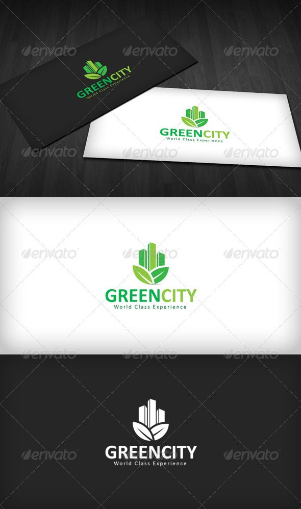 Green City Logo  #GraphicRiver         Green City Logo is a designed for Any types of companies. It is made by simple shapes Although looks very professional. The final file includes 3 variations of the Logo.  Featured:   Unique Slogan  AI CS3 Document  EPS CS Document  CMYK – 100 % Vector (Re-sizable)  3 Variations (Color, B/W & Inverts)  Used Free Font (Link Included Main Download)      Created: 21May12 GraphicsFilesIncluded: VectorEPS #AIIllustrator Layered: Yes…
