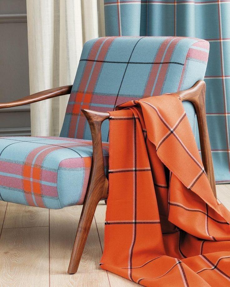 #шотландка снова в моде! Обратите внимание на коллекцию Erzurum @persanhomestudio. Заказать можно в #Galleria_Arben #persan #tartan #fabric