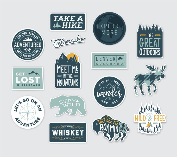 Adventure Stickers  Extended Collection by OwlYouNeedIsLoveShop