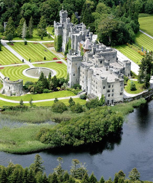 Ashford Castle Hotel in Ireland