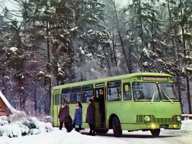 ЛиАЗ-677 Второй опытной серии (1964 год) | GM-Клуб :: Просмотр темы - Автоэкзотика