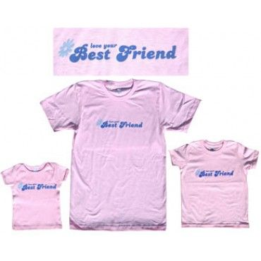 Best Friends Bff Matching Mom And Daughter Shirts
