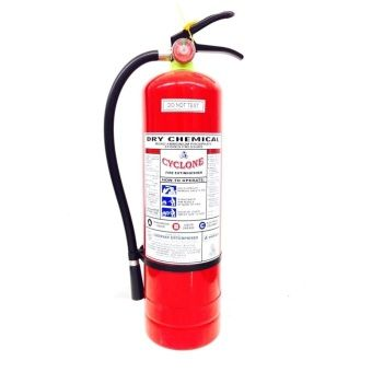 Buy Cyclone Fire Extinguisher 10lbs ABC Dry Chemical (Red) online at Lazada. Discount prices and promotional sale on all. Free Shipping.