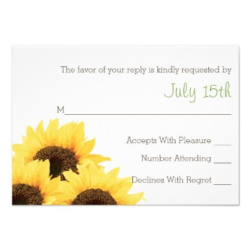 1000+ Images About Sunflower Birthday Party Invitations On