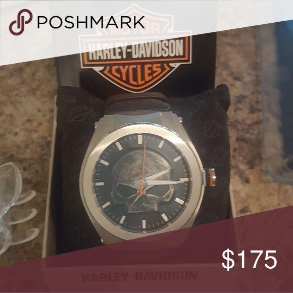 Willie G Harley Davidson watch Brand new. Mens watch. Harley Davidson scull Other