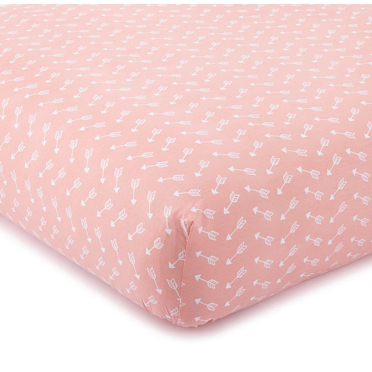 Babies R Us Exclusive! The Levtex Baby Coral Arrow Fitted Sheet