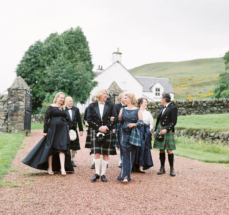This is how you stroll up to your Scottish rehearsal dinner at Forter Castle in style. // photography: @shaunaveaseyphotography  venue: @fortercastle1560 planning  design: @jelliottstyle travel  planning: @thehoneymoonco chef: Peter Backhouse HAMU: @elizabethsloanbeauty Scottish Band: @anguswares Scottish Sporting Games: @ccrancrombie #atlantaweddingphotographer #destinationweddingphotographer #fortercastle #filmphotographer #fineartphotographer #fineartweddingphotographer…