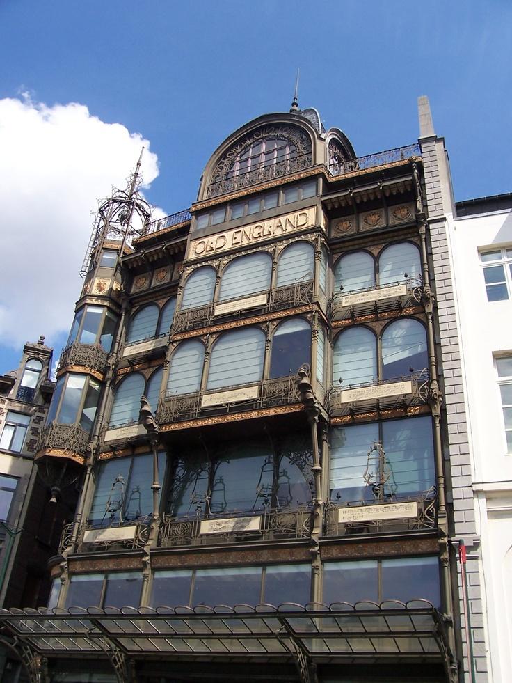 Music instruments museum Brussels Art Nouveau