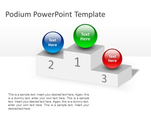 59 best business powerpoint templates images on pinterest diy free podium powerpoint template is a free powerpoint template with a podium shape in the slide toneelgroepblik Image collections