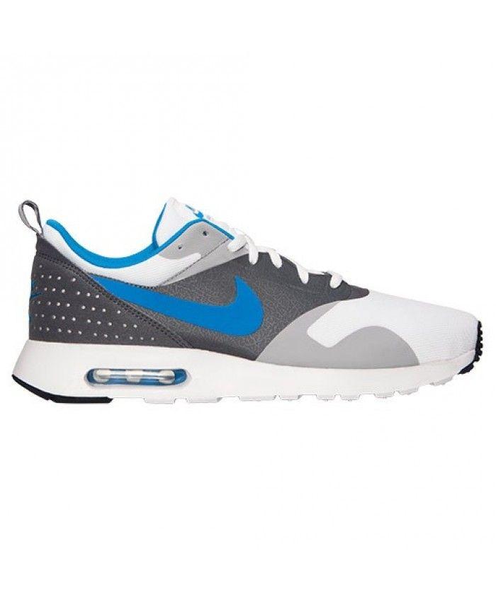 Homme Nike Air Max Tavas Jogging Blanche Bleu Photo Loup