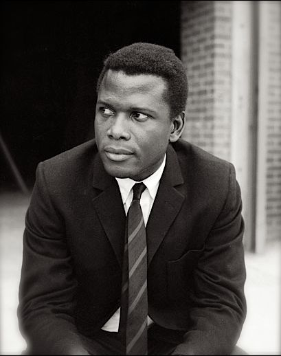 "'Sydney Poitier, actor and ""Academy Award"" winner for his performance in Lilies of the Field, was born in Miami, FL, on this date February 20, 1924.'  (photo: Sydney Poitier)  - CARTER Magazine"