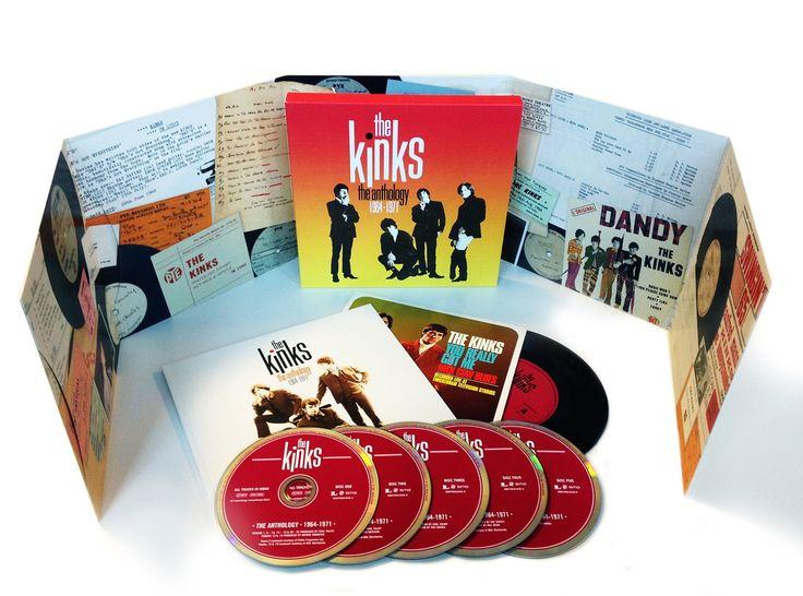 The Kinks   The Anthology, 1964-1971   CD 10364   http://catalog.wrlc.org/cgi-bin/Pwebrecon.cgi?BBID=14242362