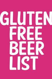 Gluten Free Beer List from Glutenista