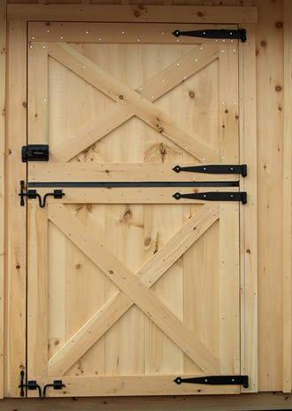 Dutch Door On A Barn