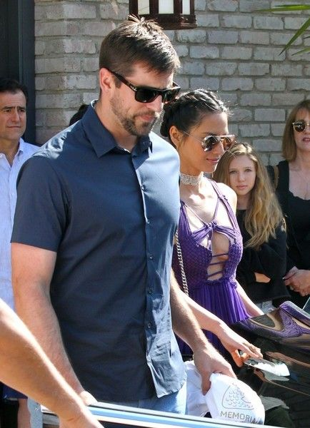Aaron Rodgers Photos - Celebrities attending Joel Silver's Annual Memorial Day Party at his house in Malibu, California on May 30, 2016. - Celebrities Attend Joel Silver's 2016 Memorial Day Party