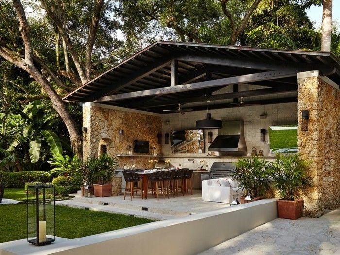 Ideen und Tipps für die Außenküche im Garten   – Janaina Matos