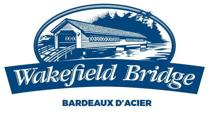 Les bardeaux d'acier Wakefield Bridge par Idéal Revêtement
