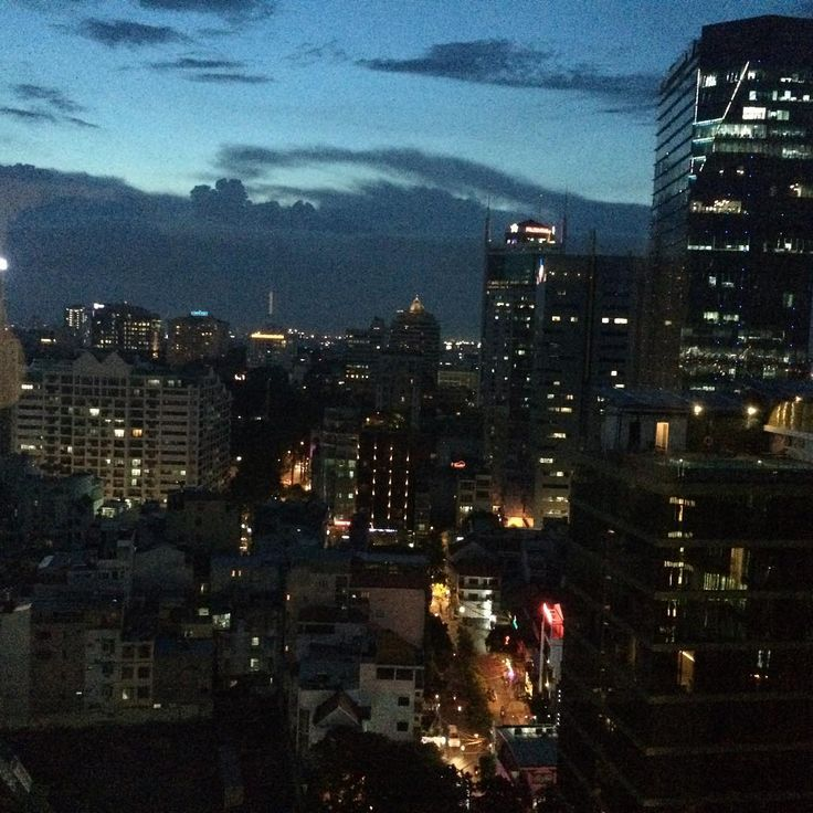 Saigon from my window