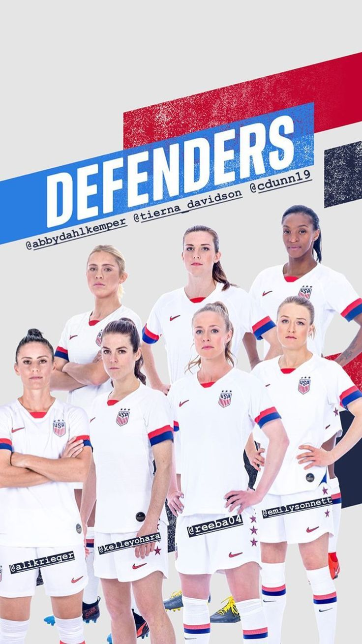 Uswnt Def Wwc Roster Drop May 2 2019 Def Drop Roster Uswnt Wwc Usa Soccer Team Female Soccer Players Soccer Players