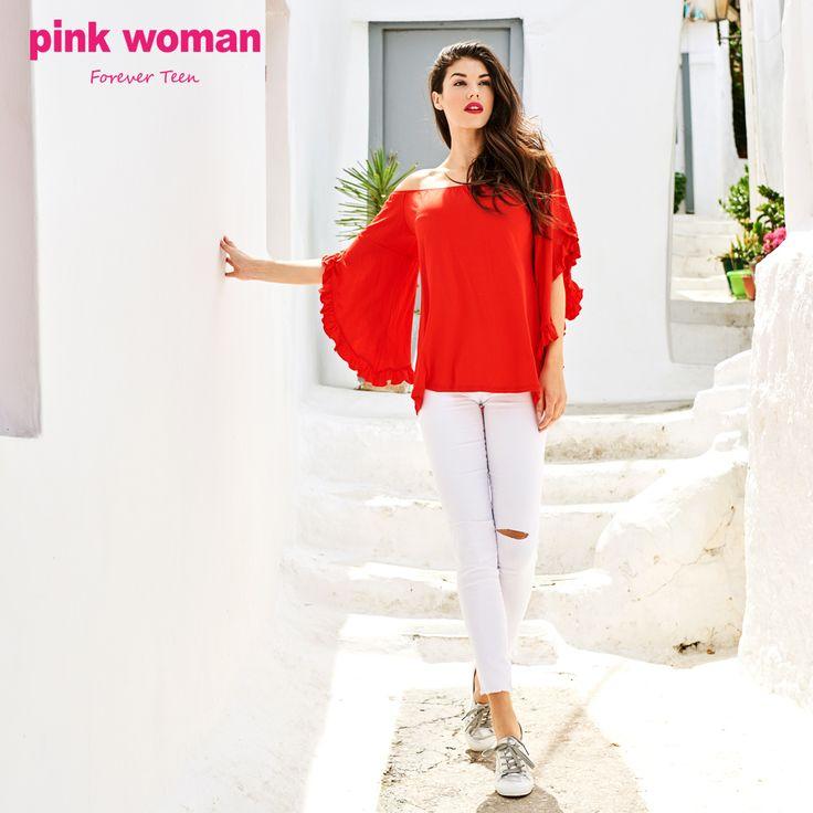 Τόλμησε στα έντονα χρώματα! Shop online at https://www.pinkwoman-fashion.com/el-gr/
