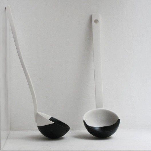 Louche en porcelaine - Daandi