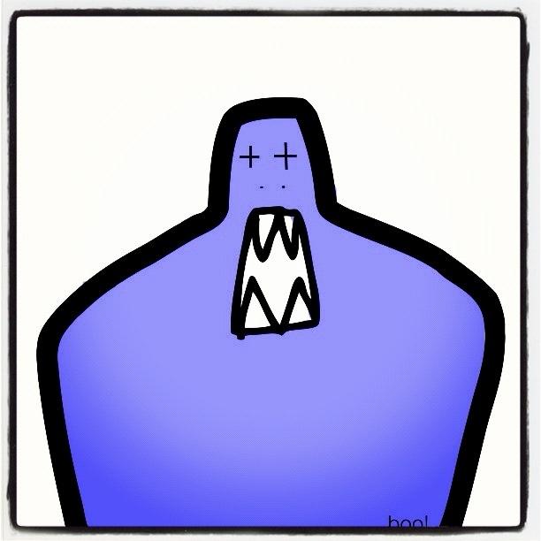 Say hi to my Blue Boo! :) @JaredLeto @bartcubbins @CREEPS