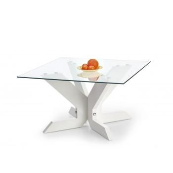Konfereční skleněný stolek Sardis