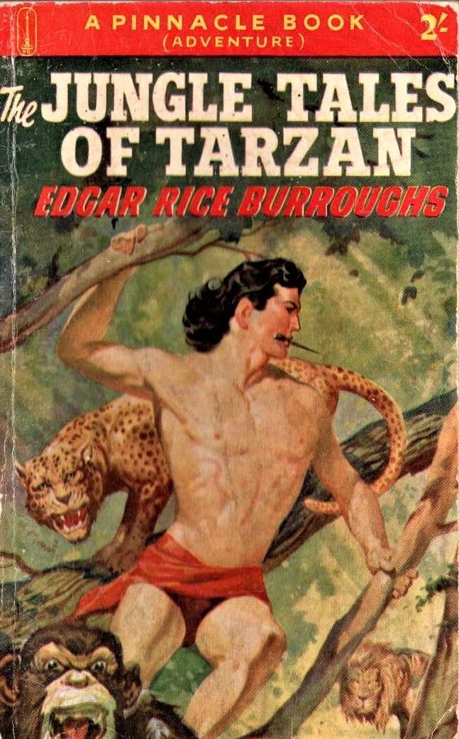 The Jungle Tales Of Tarzan Edgar Rice Burroughs Tarzan Book Tarzan Adventure Fiction