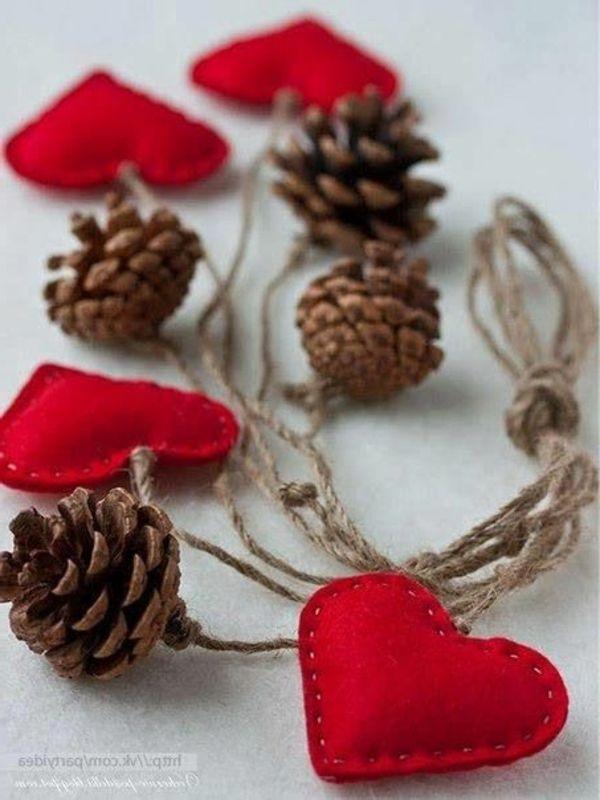 1000 bilder zu naturmaterialien auf pinterest basteln - Weihnachtsdekoration basteln mit kindern ...
