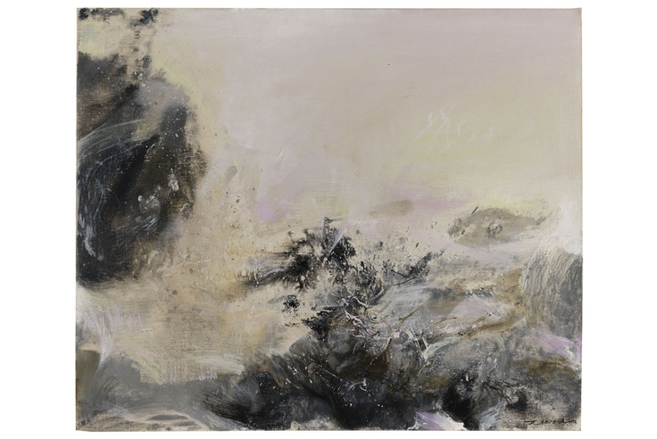 Auction house Ketterer Kunst in Munich to sell rare oil painting by artist Zao Wou-Ki