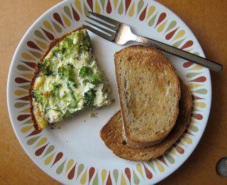 crustless quiche | Yum | Pinterest
