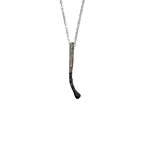 Match Necklace Silver by Claire English