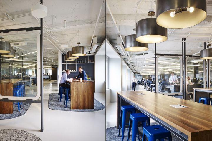 Prescient Offices By Perkins Will Chicago Illinois Retail Design Blog Espacios