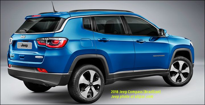 2018 Jeep Compass Blue