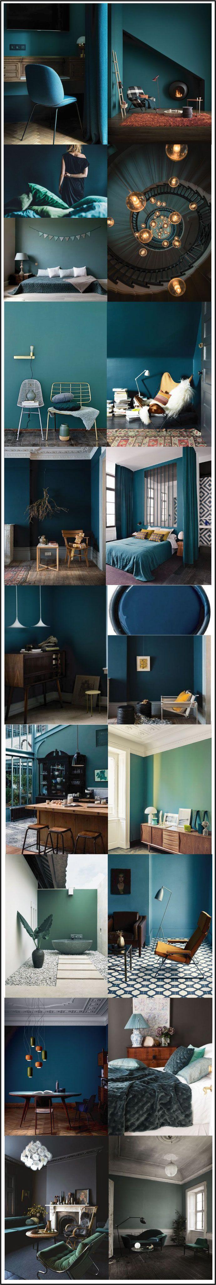 1000 id es sur le th me couleurs de salon sur pinterest for Couleur bleu vert