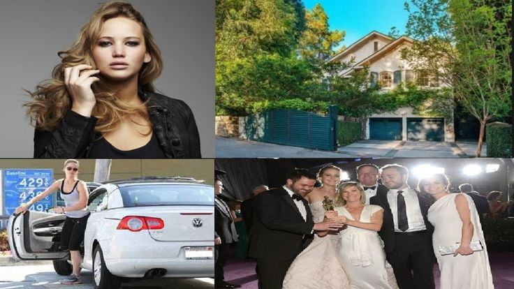 Jennifer Lawrence 's Biography  Net worth  Family  House  Cars   2016.  Born Jennifer Shrader Lawrence has an estimated net worth of $53.9 million. Jennifer Lawrence is a famous American film and television actress. She played the central characters on T.V in TBS's and The Bill Engvall Show. The actress also received the prestigious Academy award nomination for her lead roles in films like The Burning Pain and Winter's Bone. Jennifer is the second youngest actress to be nominated for the…
