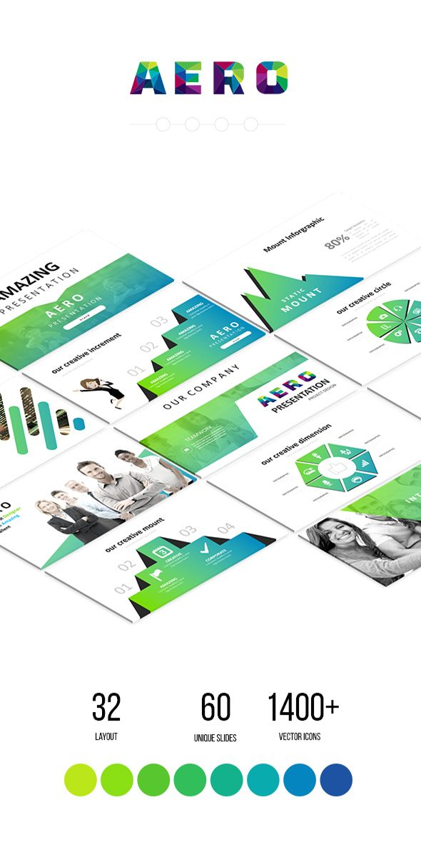 dab105505462bb Aero - Multipurpose Google Slides Template - Google Slides Presentation  Templates Download link  https