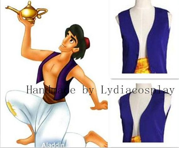 Handmade  Aladdin Costume Aladdin Cosplay Aladdin by LydiaCosplay, $79.00